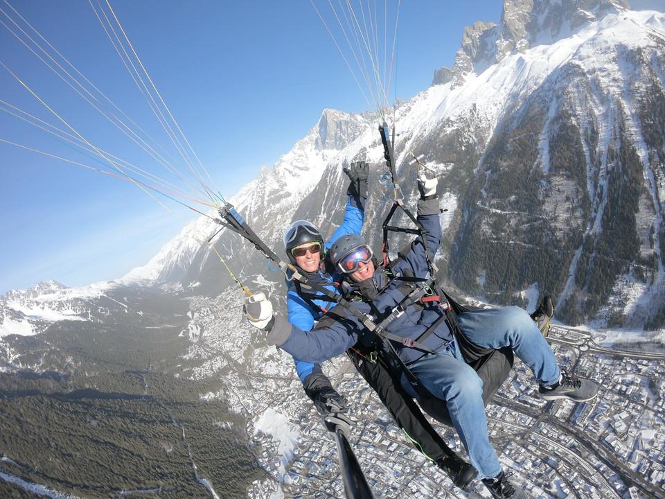 Jeff Freedman Paragliding in France
