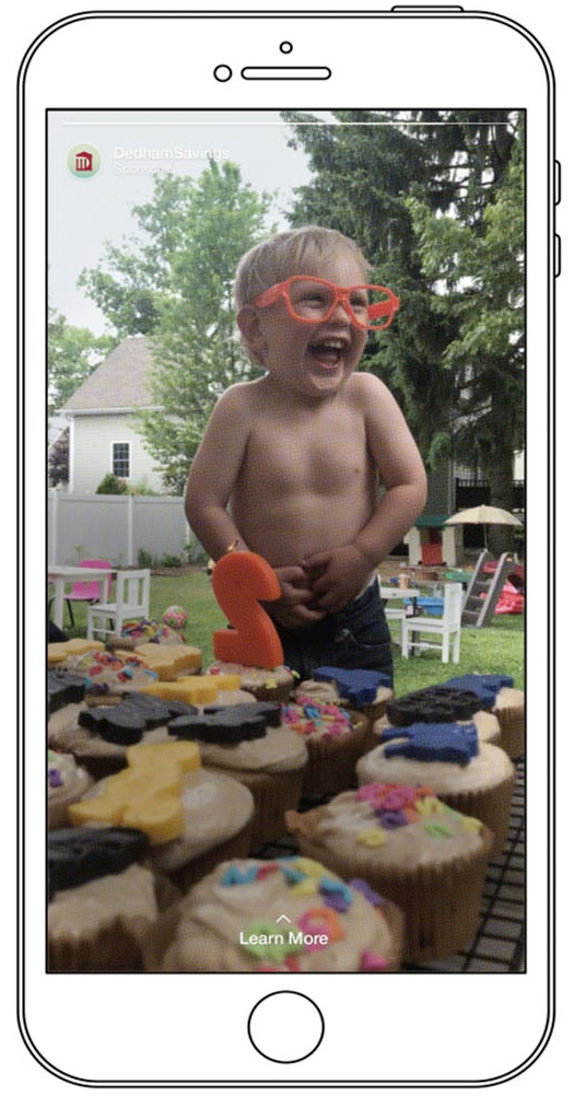 toddler laughing in phone